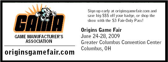 GAME MANUFACTURER'S
